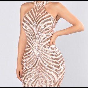 NWT Holiday/Party Sequin Dress FASHIONNOVA